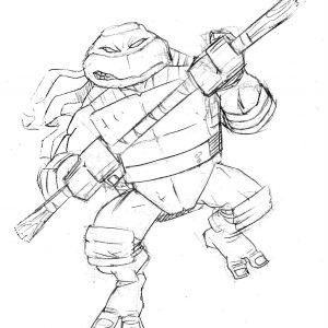 300x300 Ninja Turtles Coloring Pages Donatello Inspiration Teenage Mutant
