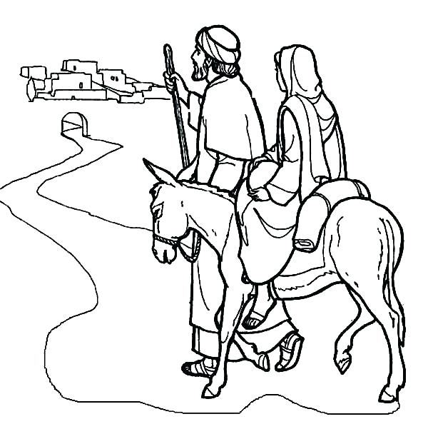 600x608 Donkey Coloring Page Donkey Coloring Pages And On A Donkey