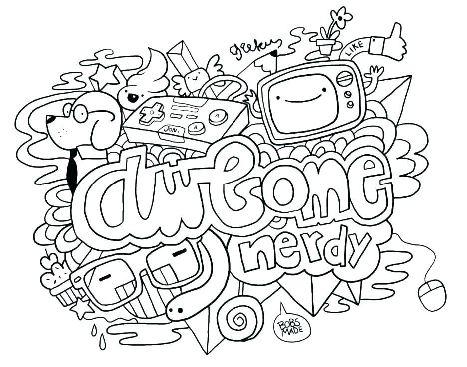 936x736 Doodle Art Coloring Pages Algebra Coloring Page Doodle Art