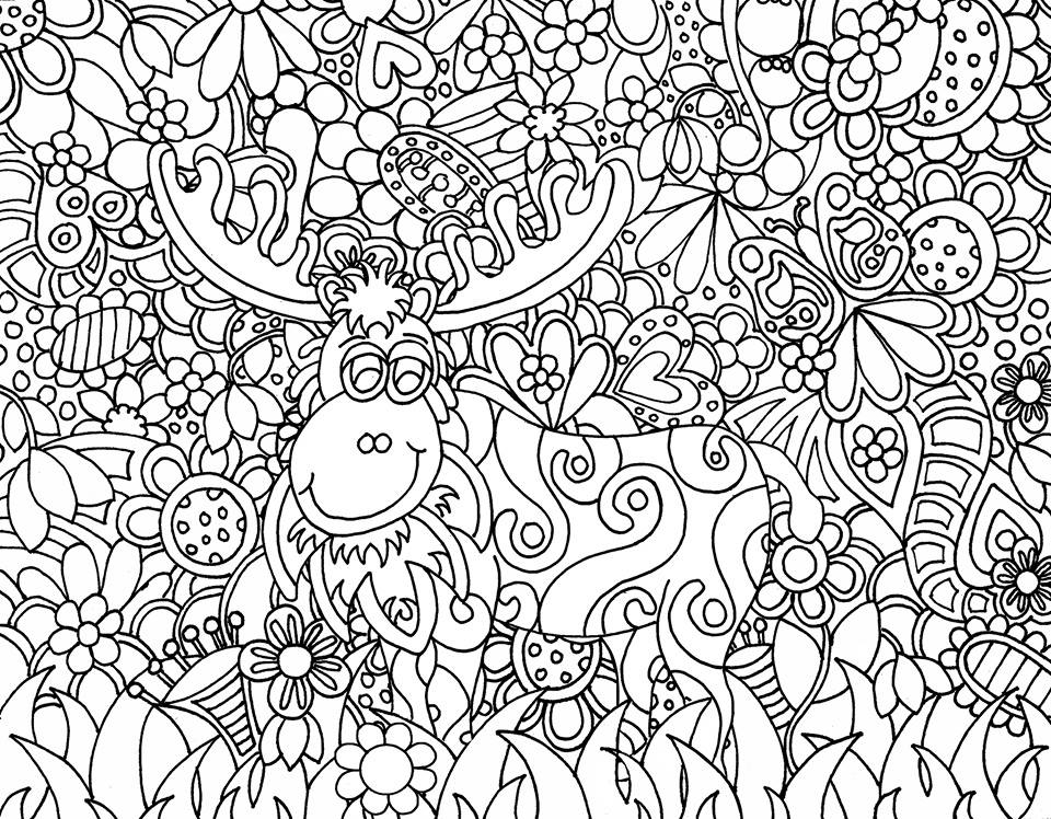 960x748 Amazing Printable Doodle Art Coloring Pages Gallery Diy Coloring