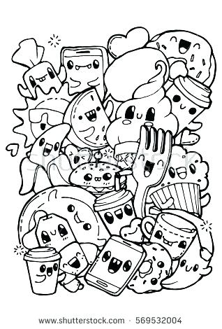 Doodle Art Coloring Pages At Getdrawings Free Download