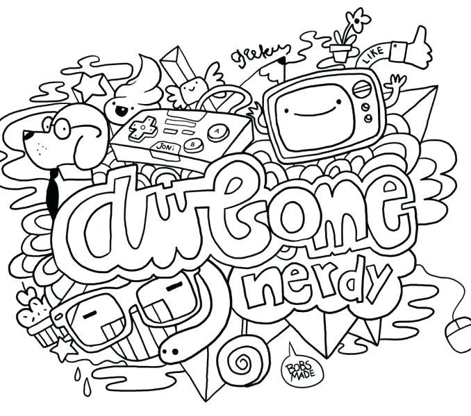 678x600 Doodle Coloring Pages Doodle Coloring Pages Doodle Coloring Pages