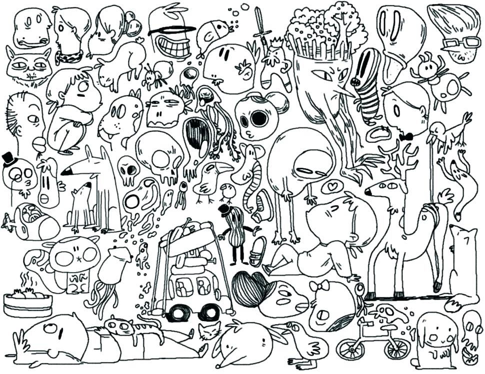 970x749 Doodle Coloring Pages Free Charlie Brown Thanksgiving Coloring