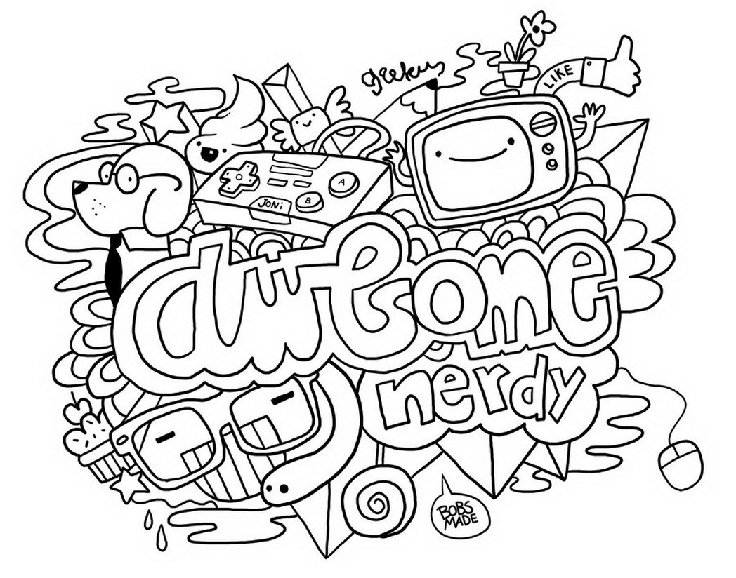 1048x824 Fresh Design Doodle Art Coloring Pages Inspirational For Your