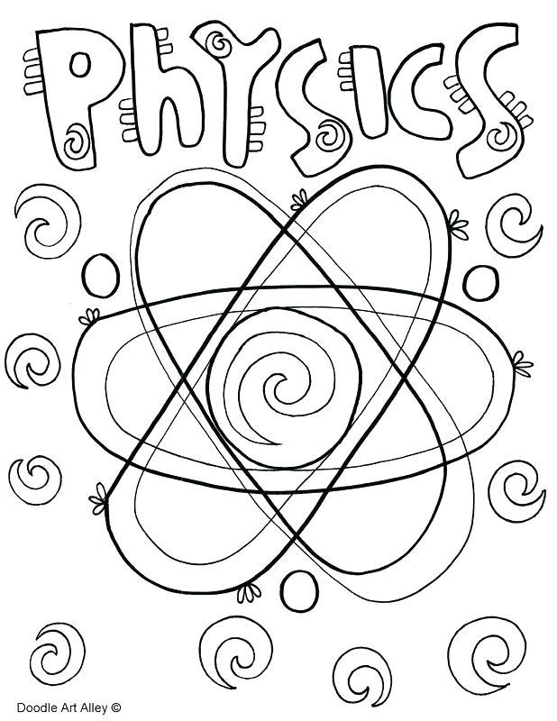 618x800 Doodle Art Coloring Pages Doodle Art Coloring Pages Physics