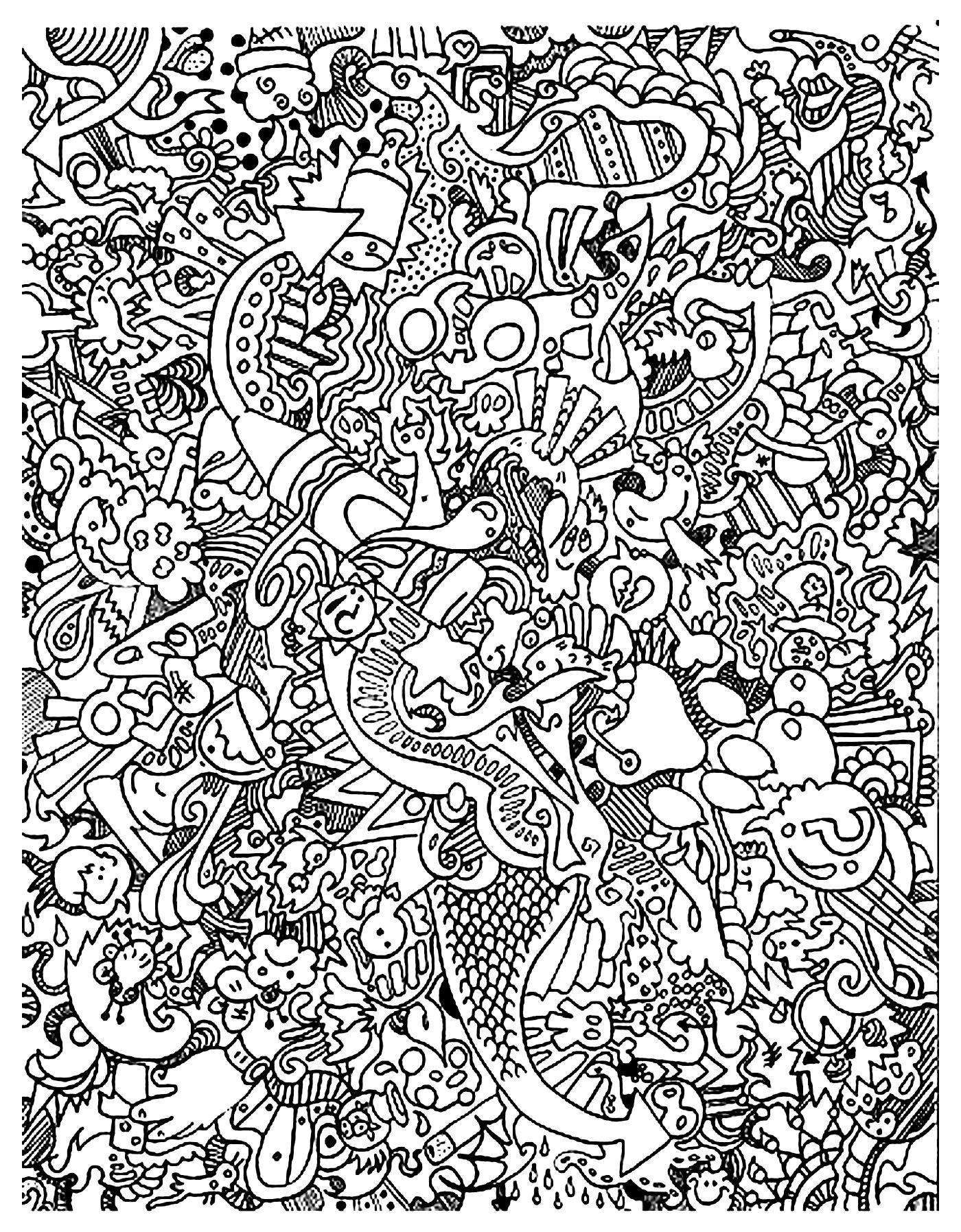 1400x1795 Doodle Art Doodling