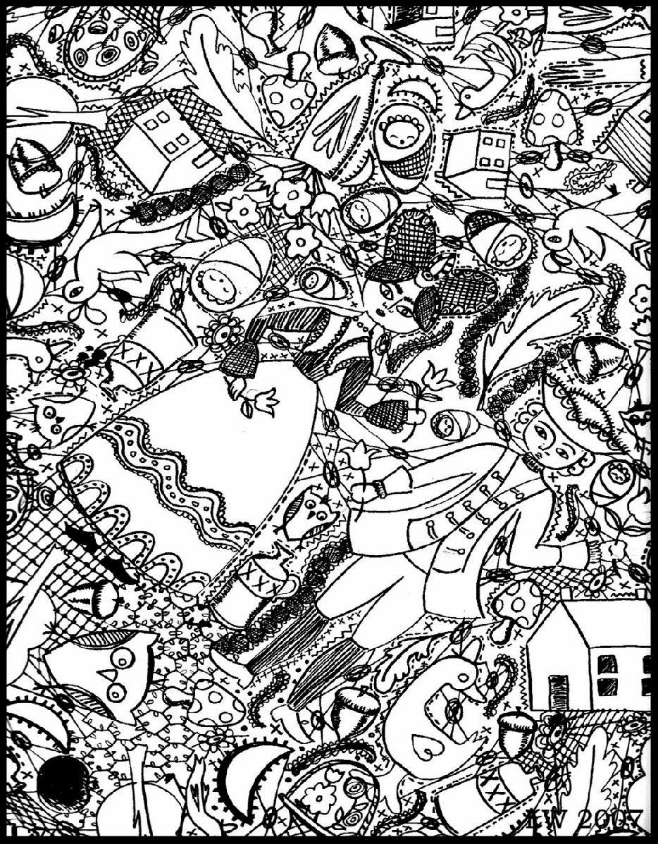 934x1198 free coloring page doodle art doodling adult in printable pages
