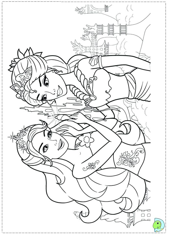 Free Barbie Ballerina Coloring Pages, Download Free Clip Art, Free ...   960x691