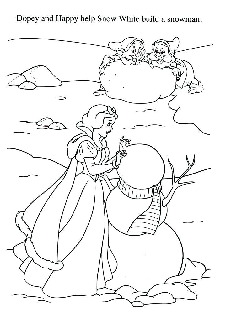 736x1047 Interesting Seven Dwarfs Coloring Pages Seven Dwarfs Coloring