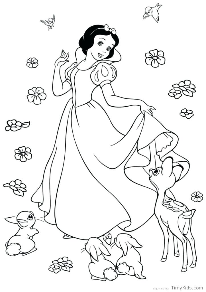 723x1024 Snow White Coloring Page Snow White With The Dwarfs Snow White