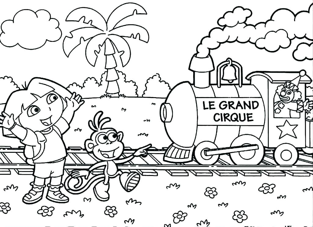 1024x743 Dora Coloring Games Backpack Coloring Page Backpack Play Free Dora