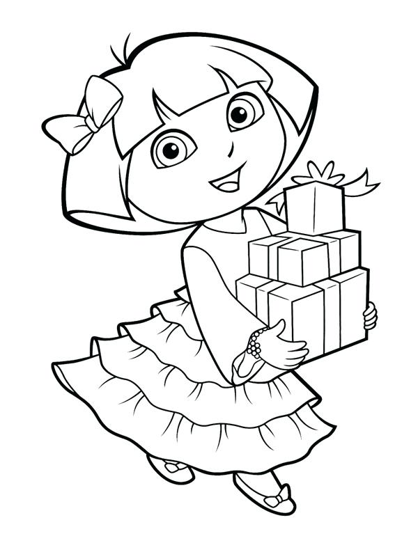 600x780 Dora Explorer Coloring Pages Wonderful The Explorer Coloring Pages