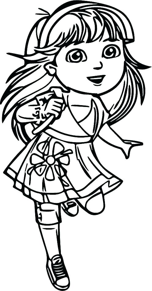 497x952 Dora Printable Coloring Pages Coloring Pages Printable Top Rated
