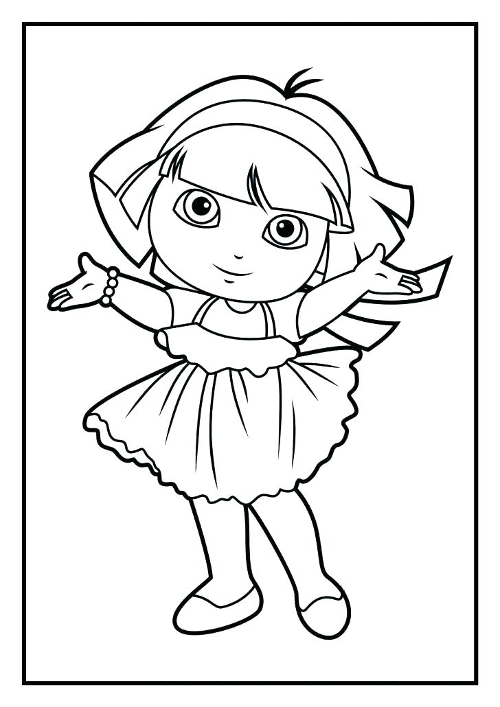728x1030 Dora Printable Coloring Pages Free Coloring Pages Coloring Book
