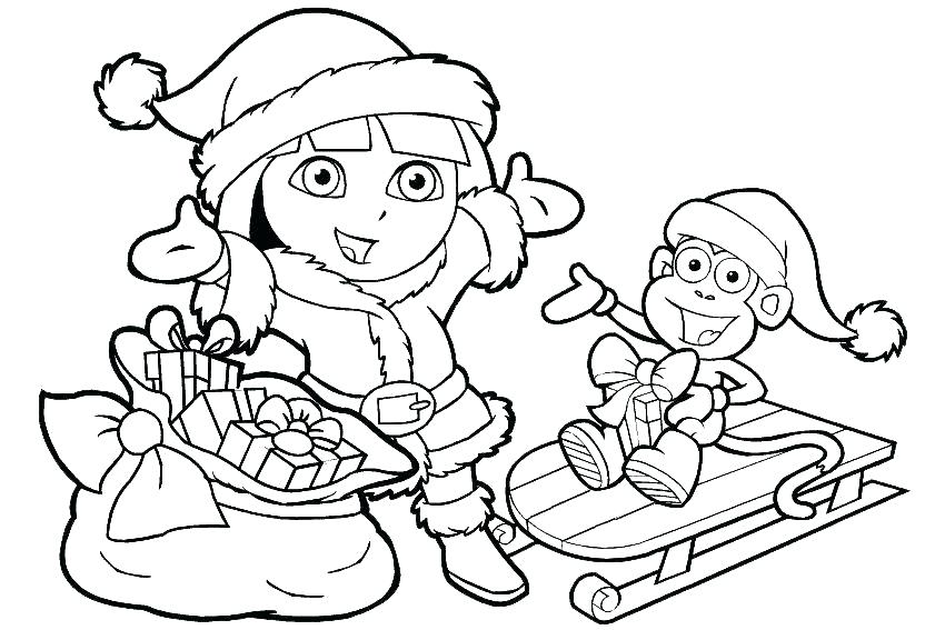 850x567 Dora The Explorer Color Pages Explorer Coloring Pages The Explorer
