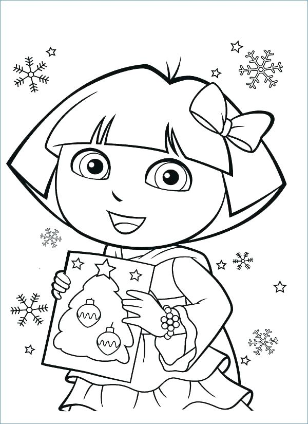 600x825 Dora The Explorer Coloring Sheets Explorer Coloring Pages Coloring