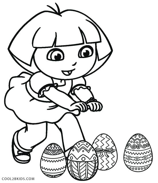 551x640 Free Printable Coloring Pages For Kids Coloring Pages Dora