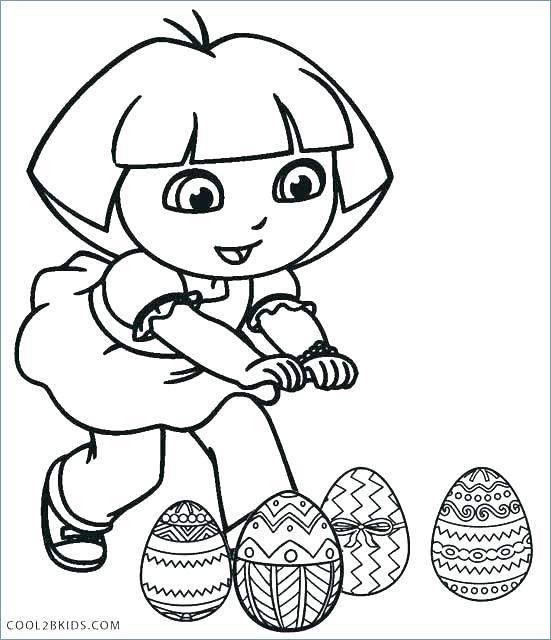 551x640 Dora Explorer Coloring Explorer Coloring Pages Coloring Sheets