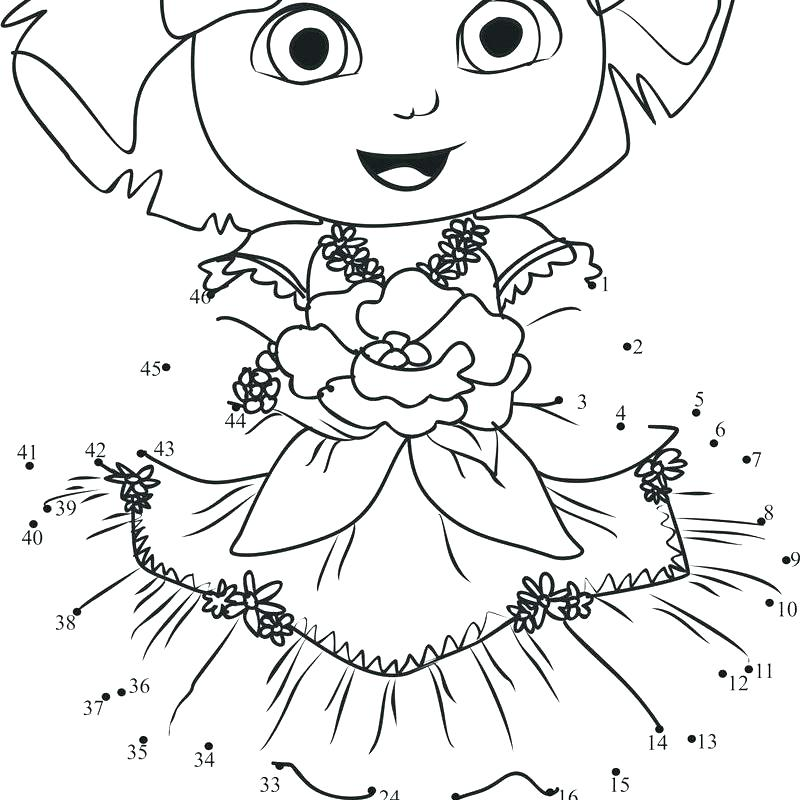 800x800 Printable Dora Coloring Pages Printable Coloring Pages