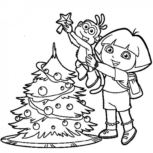 518x518 Dora The Explorer Boots Coloring Pages For Kids Halloween
