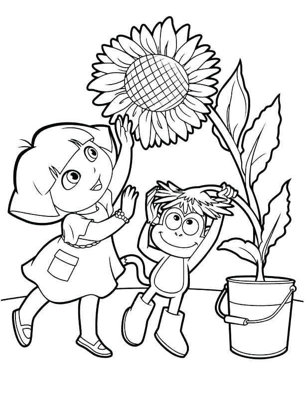 612x792 Dora Coloring Pages Wonderful The Explorer Coloring Pages This