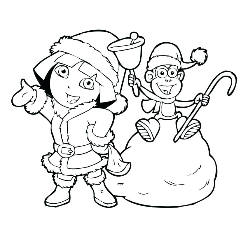 850x819 Dora Explorer Coloring Pages Explorer Coloring Pages Explorer