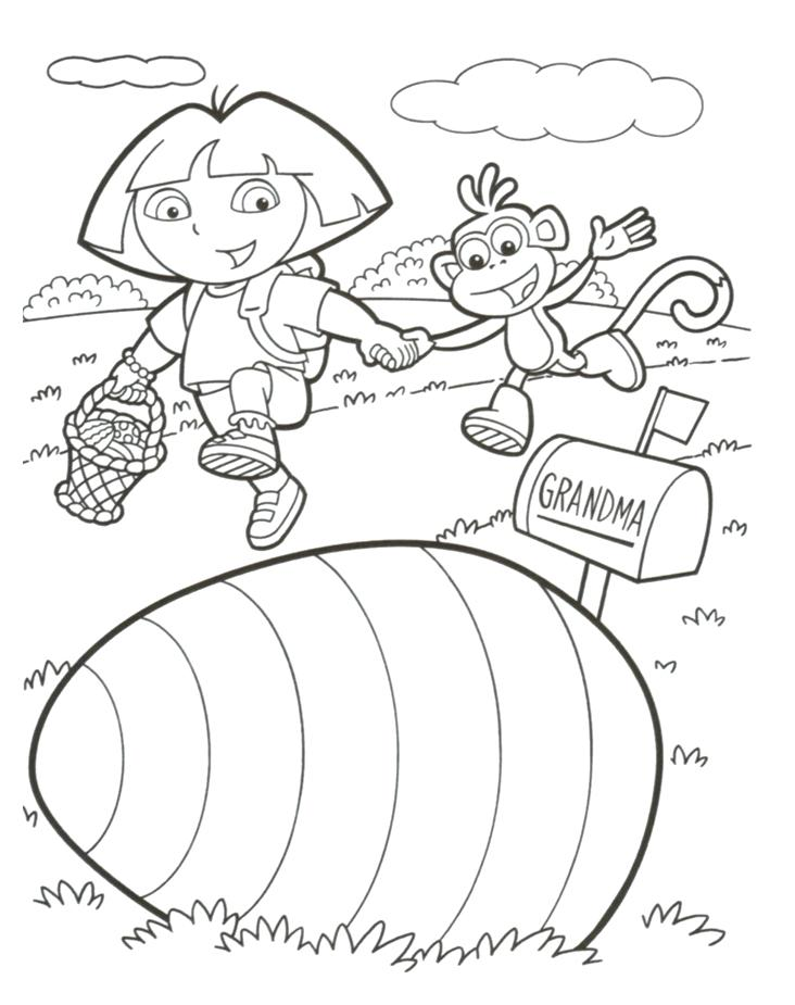 732x925 Free Dora Coloring Pages Fresh Explorer Coloring Pages Free