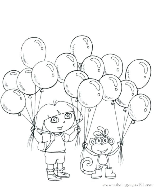 650x790 Dora Explorer Coloring Pages And Boots The Explorer Coloring Page