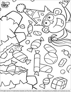 236x305 Dora The Explorer, Swiper No Swiping Coloring Page Coloring