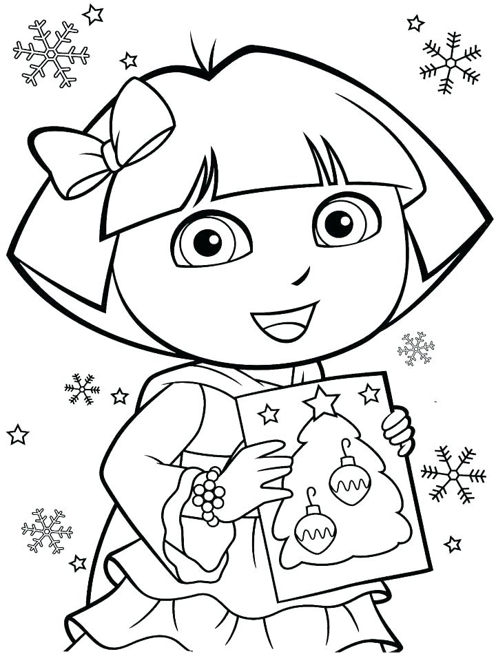 720x950 Dora Color Pages Coloring Pages Coloring Pages Online Free Color