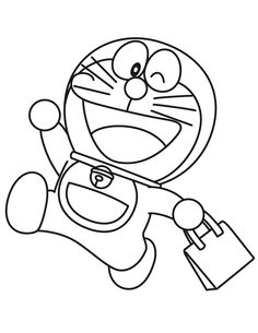 Doraemon Coloring Pages