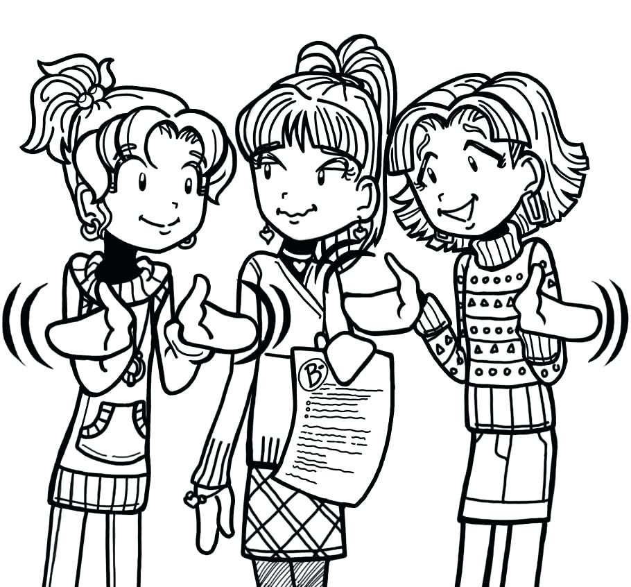 910x846 Dork Diaries In Color The B That Totally Freaked Out Dork Diaries