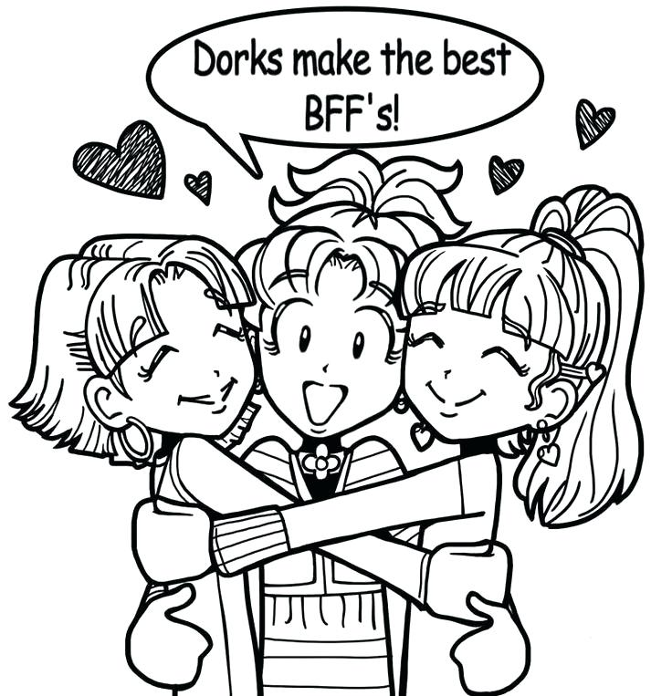 736x763 My Diary Coloring Page Dork Diaries Printable Coloring Pages Dork