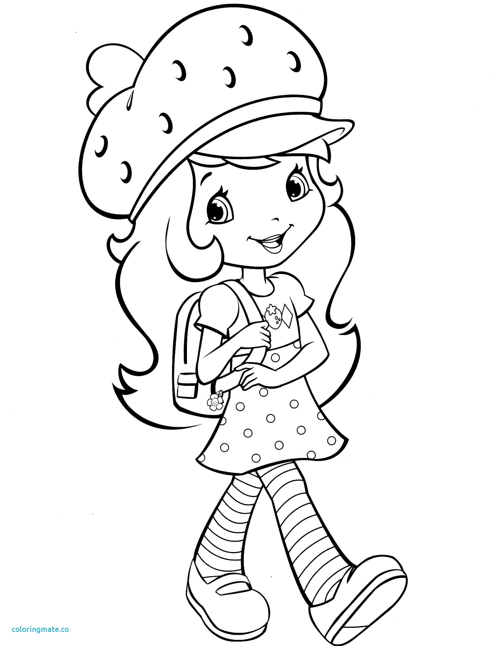 1700x2200 Printable Strawberry Coloring Page Lovely Strawberry Coloring