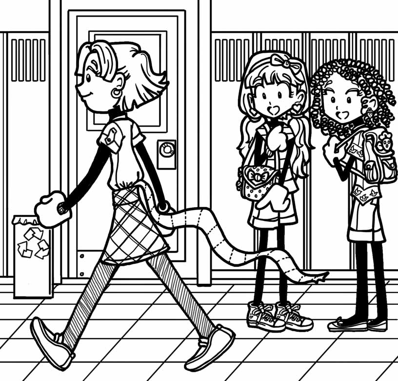 816x780 Dork Diaries Coloring Pages Online Embarrassed For Zoey