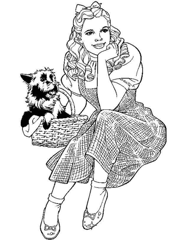 Dorothy Coloring Pages