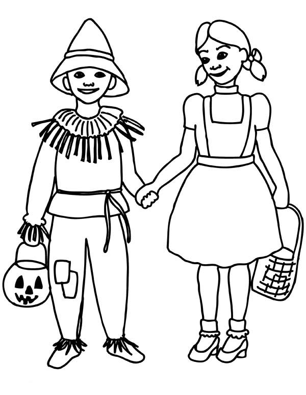 Dorothy Coloring Pages At Getdrawings Com Free For Personal Use