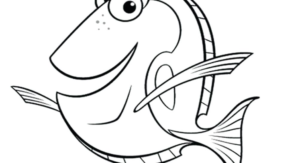 960x544 Dory Fish Coloring Wants To Eat Dory Coloring Page Free Printable