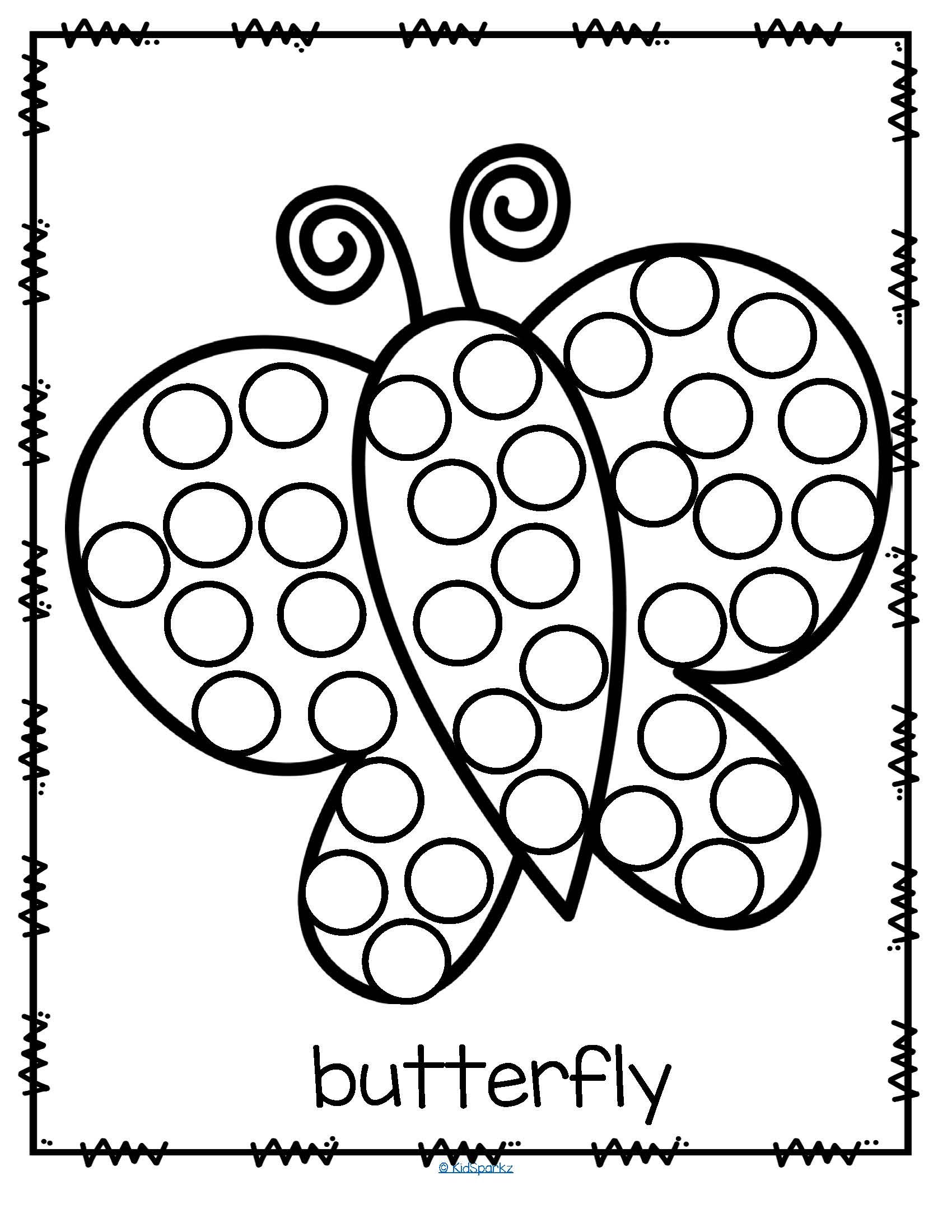Dot Art Coloring Pages At Getdrawings Com Free For