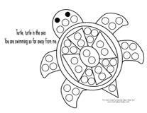 Dot Coloring Pages