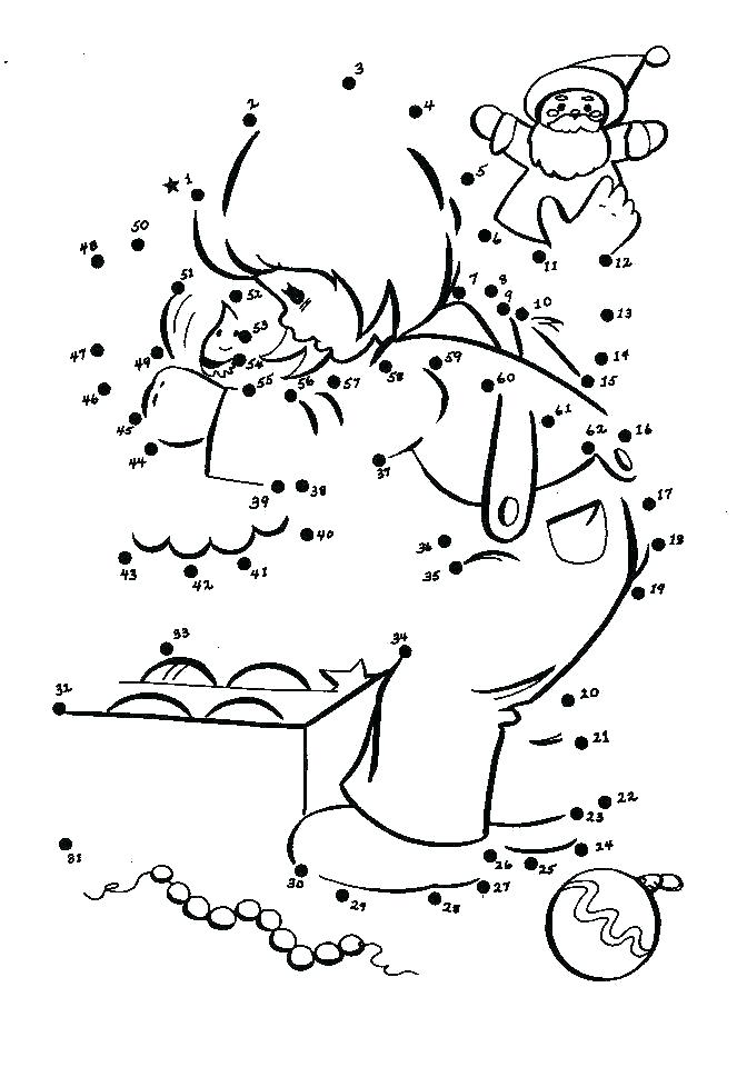 Dot To Dot Coloring Pages For Kindergarten at GetDrawings ...