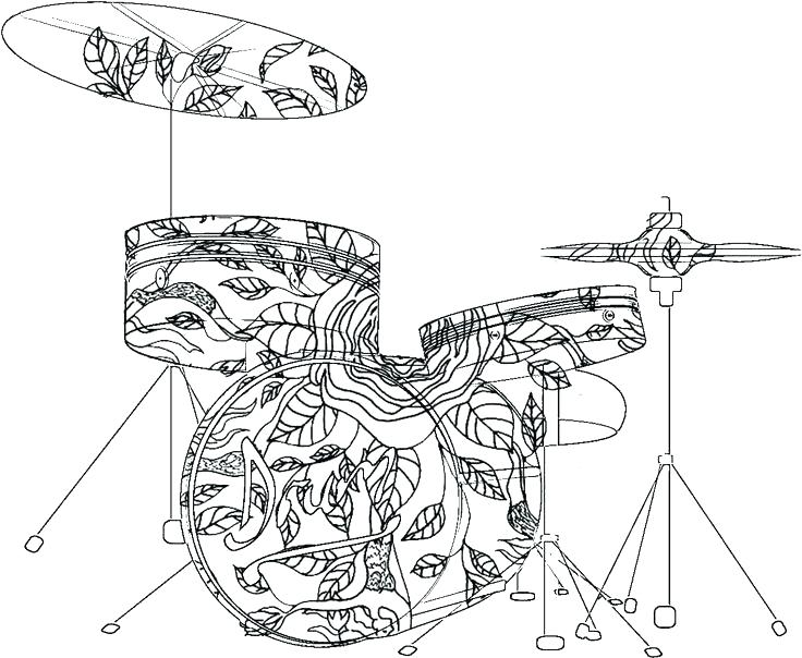 736x604 Double Bass Colouring Page Top Coloring Pages Free