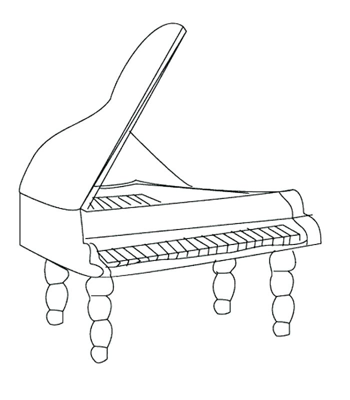 700x800 Instruments Orchestra Colouring Pages Kids Coloring Double Bass