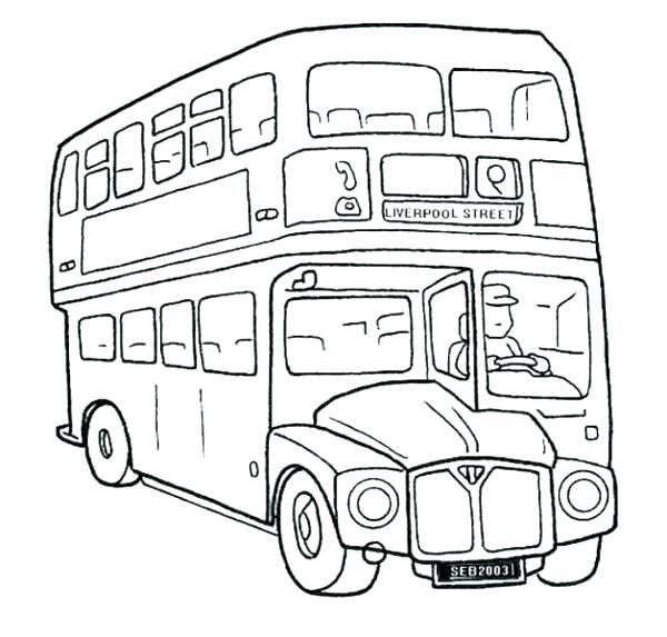 600x573 Bus Colouring In School Bus Coloring Pages Print Out School Bus