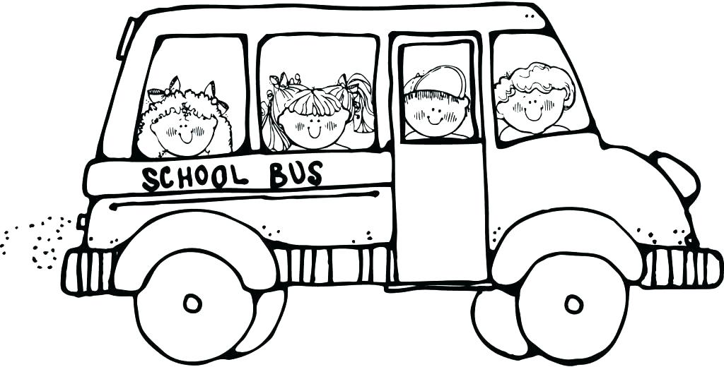 1024x520 Bus Colouring In School Bus Coloring Picture School Bus Coloring