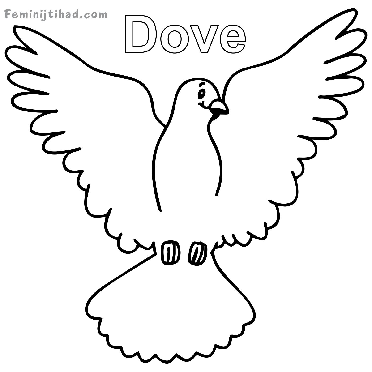 1575x1575 Dove Coloring Sheets To Print Coloring Pages For Kids