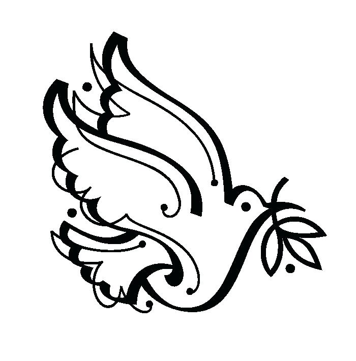 700x710 Peace Coloring Pages Peace Colouring Page Printable Peace Dove