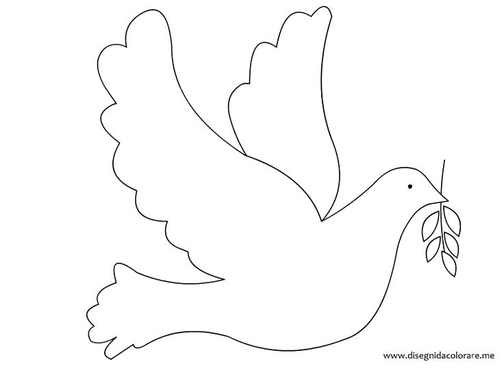 736x538 Dove Coloring Pages