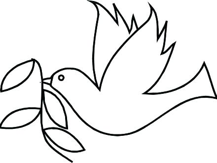 440x330 Dove Coloring Pages