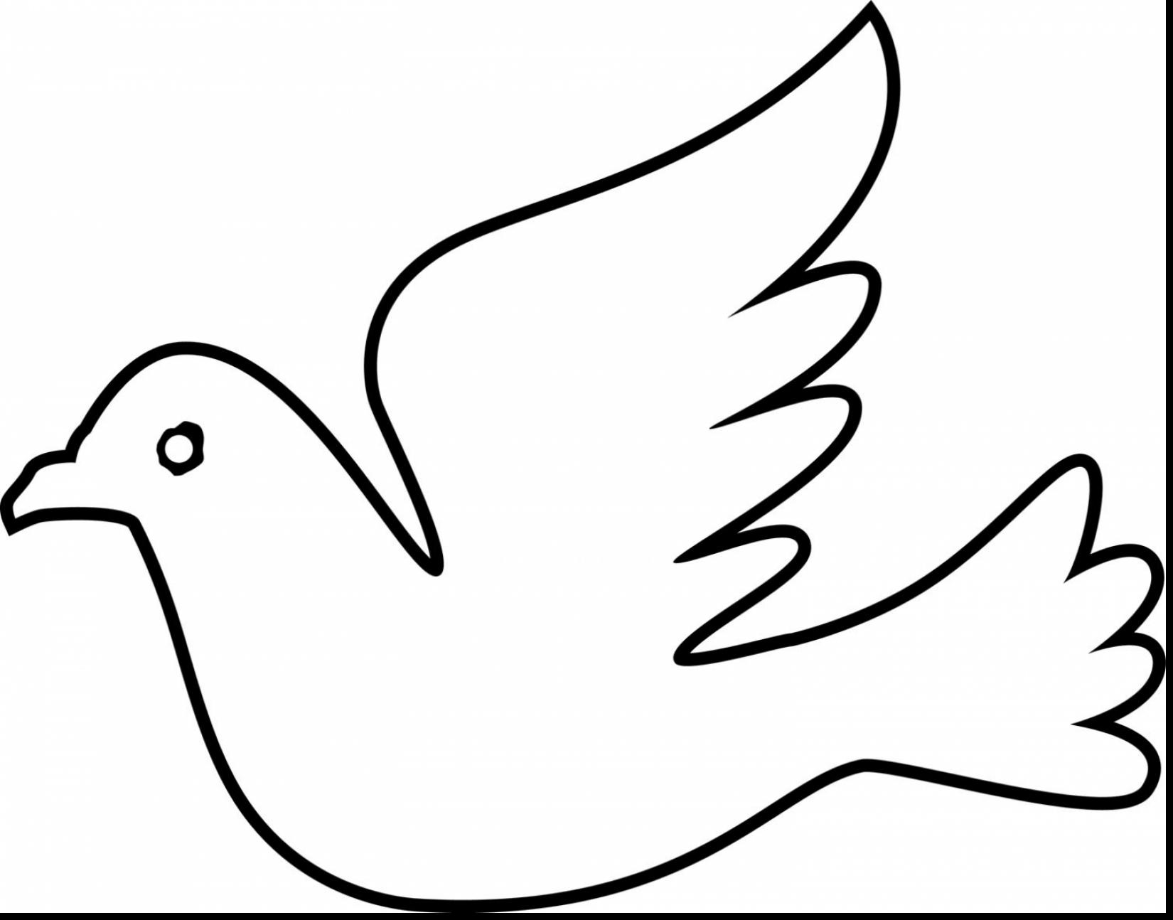 1650x1294 Marvelous Design Dove Coloring Page Mourning With To Color Dove